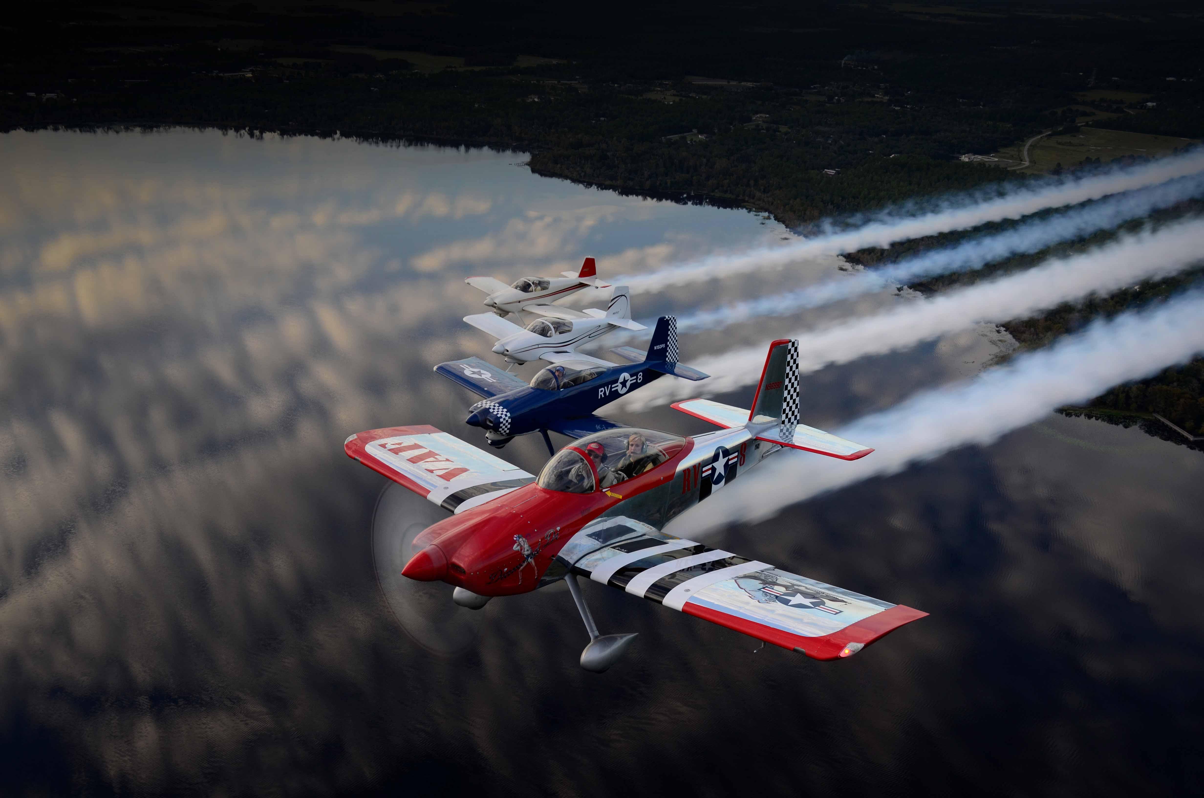 RV-8 / 8A - Van's Aircraft Total Performance RV Kit Planes