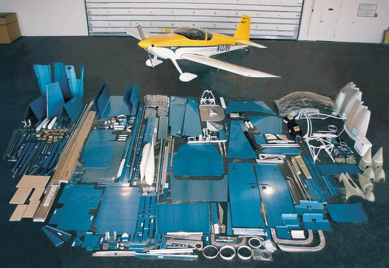 Standard Kits - Van's Aircraft Total Performance RV Kit Planes